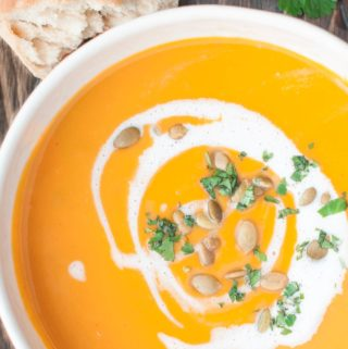 curry sweet potato squash soup