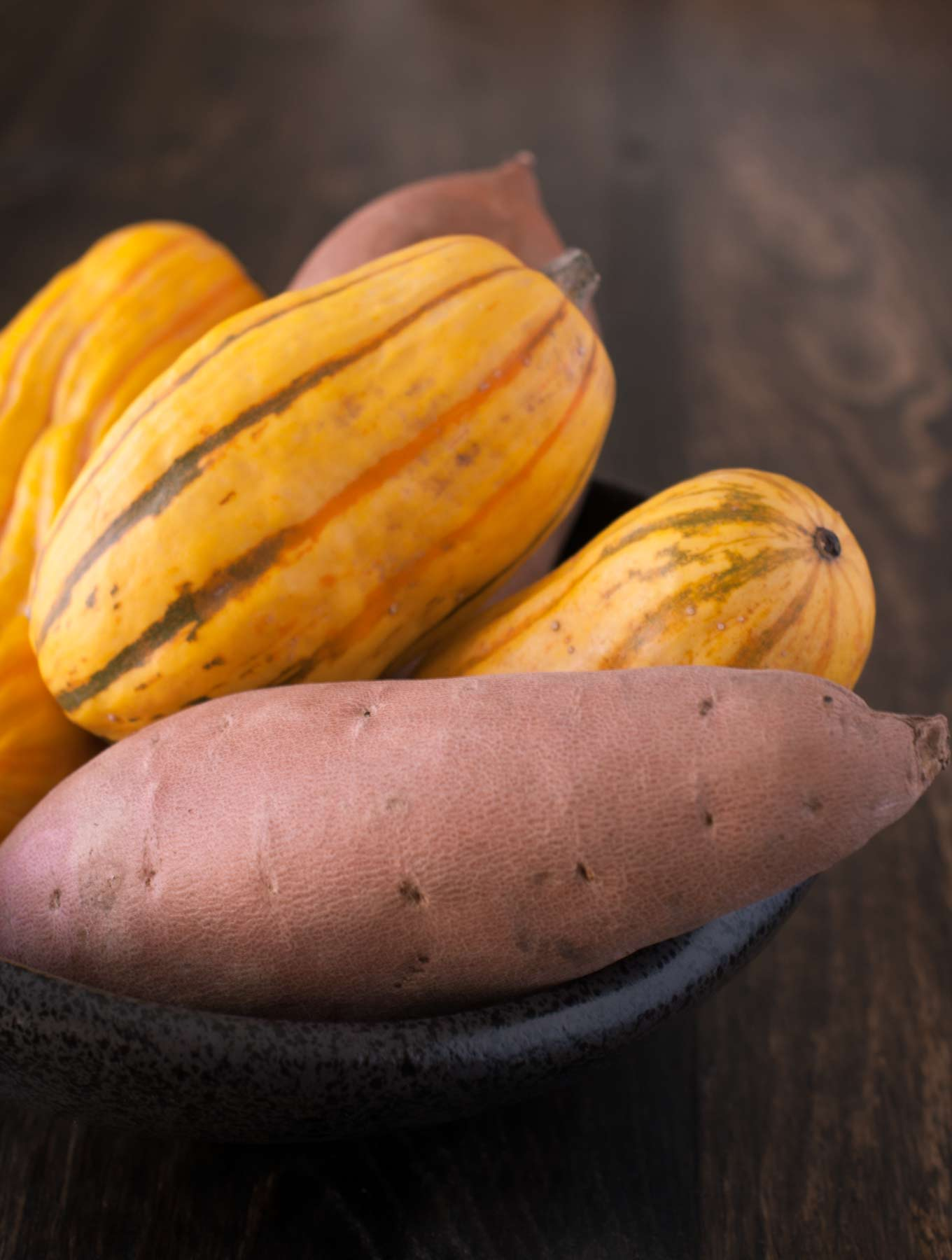 delicata squash yams sweet potato