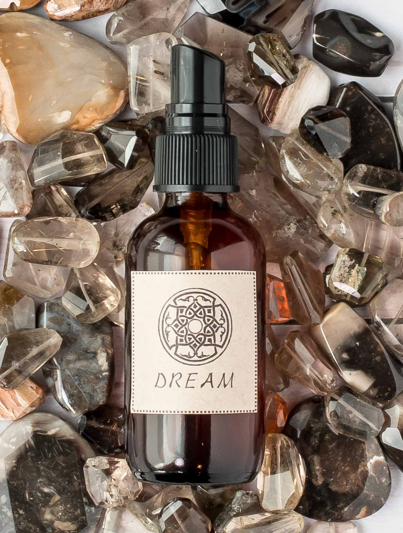 Single DIY Aroma Spray on Crystals