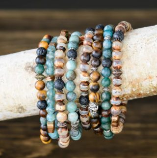 DIY Essential Oil Diffuser Bracelets on a Branch