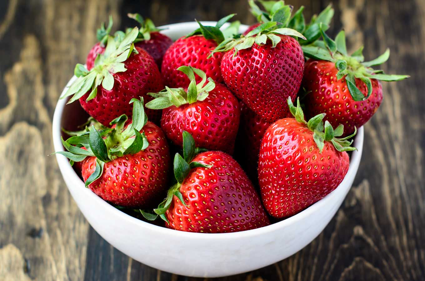 Bowl of Strawberries