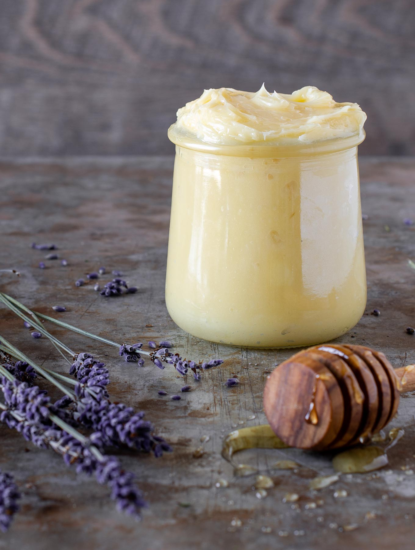 Whipped Lavender Honey Butter